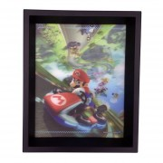 Cuadro Lenticular Mario Kart 8 Nintendo Efecto 3d Decorativo