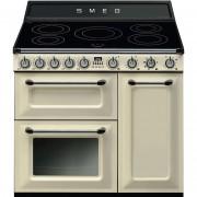 SMEG Tr93ip Cucina 90x60 5 Zone Cottura A Induzione Doppio Forno 123 Litri Class