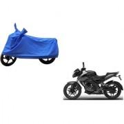 Intenzo Premium Full Blue Two Wheeler Cover for Bajaj Pulsar NS200