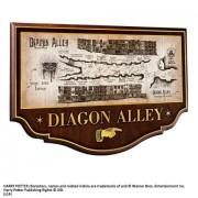 Cjay Diagon Alley Muurplaat (Wall Plaque) - Harry Potter