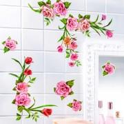 Decoratiune autocolanta Trandafiri