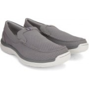 Clarks MARUS STEP GREY Loafers For Men(Grey)
