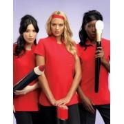 Beauty & Spa tunika piros színben