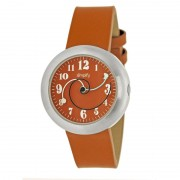 Simplify The 2700 Leather-Band Watch - Orange SIM2704
