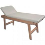 lettino visita medica regolabile 13 posizioni in legno massello di fag