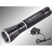JY SUPER JY- 805 RECHARGEABLE LED TORCH LIGHT HIGH POWER FLASH LIGHT 1ps