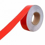RE-FOX Red Car Reflective Material Tape 2 inch x 40 Meter Length(Color Red)