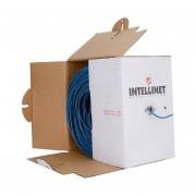 Cable Bobina Intellinet 362344 Cat 5e UTP 305 Metro-Azul