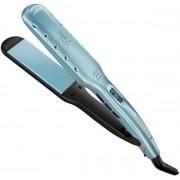 Placa de indreptat parul Remington Wet2Straight S7350, Invelis ceramic, 235 grade (Albastru)