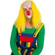 Merkloos Gele clown pruiken