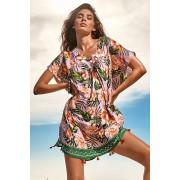 Rochie de plaja Marilena multicolor uni