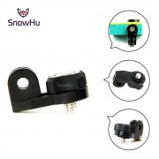 SnowHu Camera Bridge Adapter voor xiaomi yi Mounts 1/4 inch Schroef gat voor Sony Mini Cam Actie Camera HDR AS20 AS30V GP135