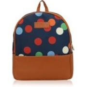 Kleio Beautiful Stylish Spacious Jacquard Backpacks for Girls / Women 11.4 L Backpack(Blue)