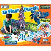 Buffalo Games: DC Superfriends 3D Floor Puzzle & Game - 48 Piece Jigsaw Puzzle and Game