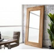 DELIFE Spiegel Alban 245x135 cm natuur Teak staande spiegel