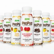 Njie 8 st NJIE ProPud Protein Milkshake 8st White Chocolate Raspberry