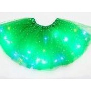 LED - Rokje - Tutu - Groot - Groen - Met Gekleurde RGB Verlichting