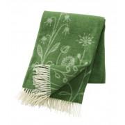 Klippan Yllefabrik Flower meadow premium ull green, klippan yllefabrik