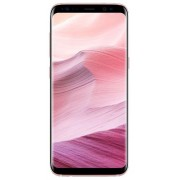 "Telefon Mobil Samsung Galaxy S8 G950, Procesor Octa-Core 2.3GHz / 1.7GHz, Super AMOLED Capacitive touchscreen 5.8"", 4GB RAM, 64GB Flash, 12MP, 4G, Wi-Fi, Android (Roz) + Cartela SIM Orange PrePay, 6 euro credit, 4 GB internet 4G, 2,000 minute nationale si"