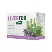 Sensilab LiverTox drink Eliminace toxinů a detoxikace organismu Nápoj s vysokým obsahem akáciové vlákniny Citronová příchuť 15 sáčků Kúra na 15 dní