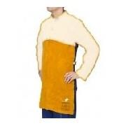 44-28.. Golden Brown™ şorţ de sudură din şpalt de vită