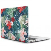 MacBook Hoes voor MacBook Air 13'' MacBook Air 11'' MacBook Pro 13'' met Retina-scherm Boom Bloem TPU Materiaal