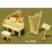 Geen Poppenhuis muziekinstrumenten