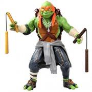 """Teenage Mutant Ninja Turtles Movie 11"""" Michelangelo Figure"""