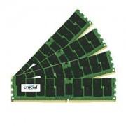 Mémoire RAM Crucial DDR4 64 Go (4 x 16 Go) 2400 MHz CL17 ECC DR X8 PC4-19200 - CT4K16G4XFD824A