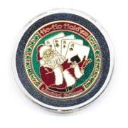 Mikulás pókeres kártyaőr - Ho-Ho Holdem Card Guard