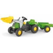 Tractor Cu Pedale Si Remorca Copii ROLLY TOYS 023134 Verde