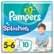 Pampers Splash ers maat 5-6, 10 wegwerpzwemluiers