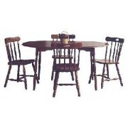 Set masa 260 si 4 scaune din lemn GL1