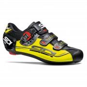Sidi Genius 7 Mega Road Shoes - Black/Yellow Fluo/Black - EU 40 - Black/Yellow Fluo/Black