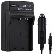 Puluz Camara Digital Bateria Cargador De Coche Para Fujifilm Np-95