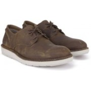Clarks Fayeman Lace Beeswax Casual(Brown)