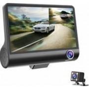 Camera auto tripla fata spate interior display 4 Full HD design tip monitor USB + CARD 32G