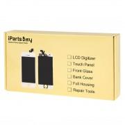 iPartsAcheter pour Sony Xperia Z5 (Version carte SIM double) Remplacement de la lunette avant (Noir)