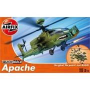 MACHETA AVION DE CONSTRUIT APACHE ELICOPTER - AIRFIX (AFJ6004)