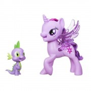 My Little Pony Prinzessin Twilight Sparkle & Spike, der Drache singendes Duo, Deutsch