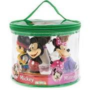 Disney Parks Exclusive Clubhouse Junior Mickey Jake Sofia Minnie Doc Bath Tub Squeeze Toys Set of 5