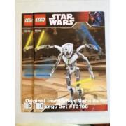 INSTRUCTION MANUALS for Lego Star Wars Set #10186 General Grievous