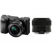 Sony Alpha A6400 + E PZ 16-50mm f/3.5-5.6 OSS + 35mm f/1.8