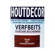Hermadix Houtdecor verfbeits Teak transparant