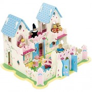 Bigjigs Toys JT103 Heritage Playset Princess Palace