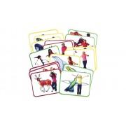 Roylco 16 Yoga-Karten Tiere