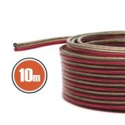 Hangszórókábel 2 x 0,5 mm² 10 m