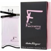 F For Fascinating Night para Mujer Salvatore Ferragamo Eau De Perfum 90ml