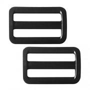 ELECTROPRIME 2X Plastic Weight Belt Slide Standard 1-1/2 Webbing Keeper for Scuba Diving