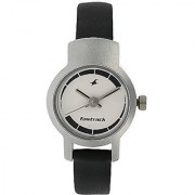 Fastrack Analogue Grey Dial Womens Watch - 2298Sl04
